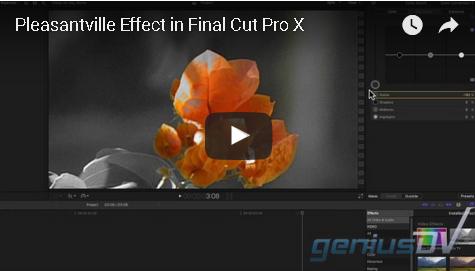 Pleasantville Effect in Final Cut Pro X | Home